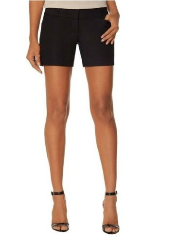 THE LIMITED Womens Tailored Black Shorts Career Sz