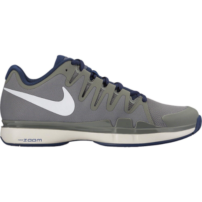 Men's Nike Zoom Vapor 9.5 Tour Tennis Shoes - Gray/Navy/White - NIB!