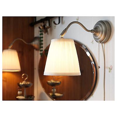SET OF 2 New IKEA ARSTID Wall Lamps Decorative Light Art Shade Sconce