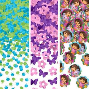 Dora The Explorer Flower Adventure Confetti Birthday Party