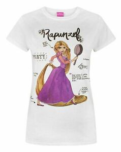 Disney-Tangled-Rapunzel-Women-039-s-T-Shirt