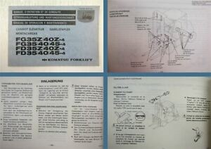 Komatsu-FD-FG-33-35-40-45-4-Z-4-Gabelstapler-Bedienungsanleitung-und-Wartung