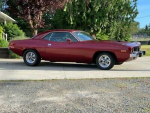 1974 Cuda, 4spd pistol grip, 360 motor, car gets looks, fast