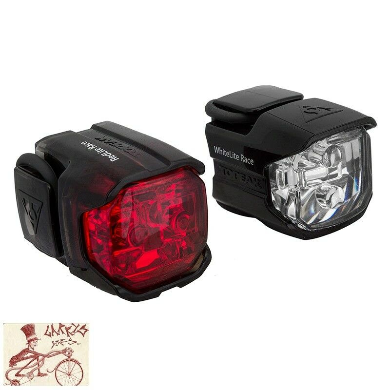 TOPEAK RACE COMBO FRONT AND REAR BICYCLE LIGHTS
