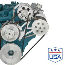 Pontiac Power Steering & Alternator Bracket 350 400 428 455 ALT PS Billet