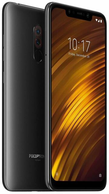 Xiaomi Pocophone F1 64GB Graphite Noir Global Version Smartphone Débloqué