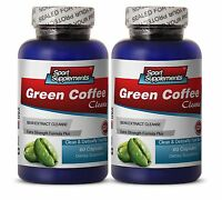 Slimming Coffee - Green Coffee Cleanse 400mg - Promotes Lean Body Mass Pills 2b
