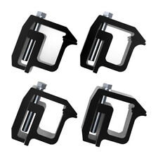 4 Pcs Truck Cap Topper Shell Mounting Clamps Heavy Duty Camper Tl2002 For Dodge Fits Tacoma