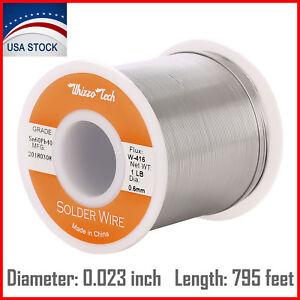 60-40-Tin-Lead-Rosin-Core-Solder-Wire-Soldering-Sn60-Pb40-Flux-023-034-0-6mm-1LB