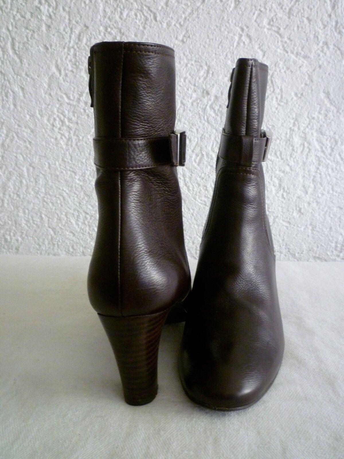 Details zu Stiefel, braun, Nubuk, Tamaris, High Heels, 38, Top Zustand!