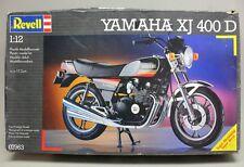 Vintage REVELL YAMAHA XJ 400 D 1:12 Scale Motorcycle Model Kit