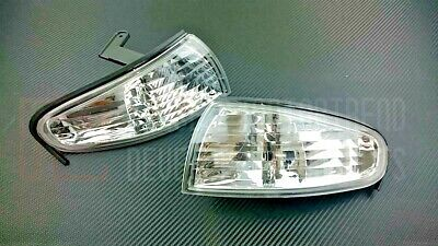 Phase 2 P2M JDM Clear Crystal Clear Sidemarker Light For 240SX S14 Zenki