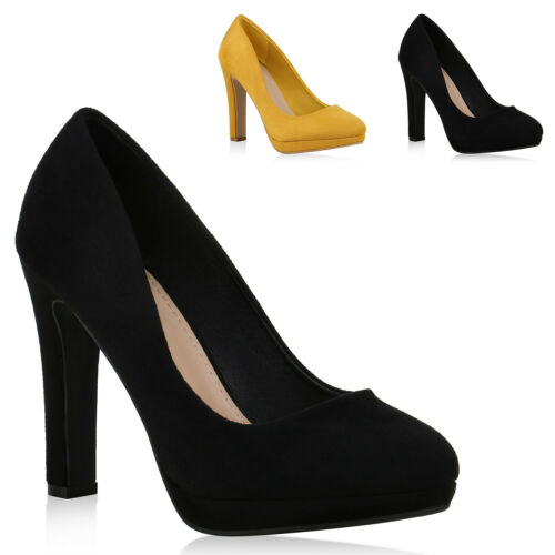 Damen Klassische Pumps Stiletto High Heels Party Absatzschuhe 831239 Trendy Neu