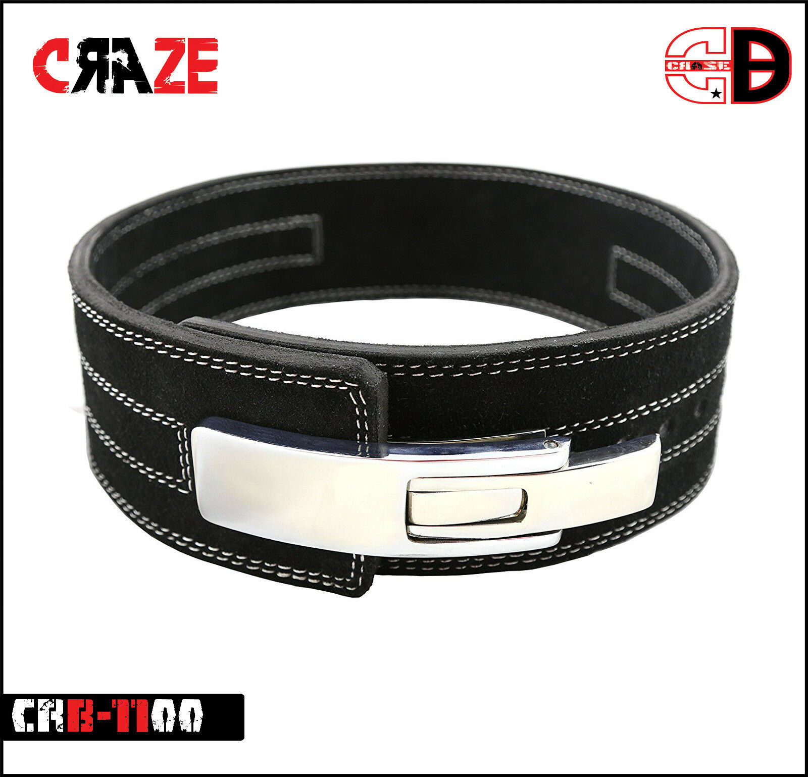 Craze Pro  Weight Power Lifting Leather Lever Pro Belt Gym Training Powerlifting  very popular