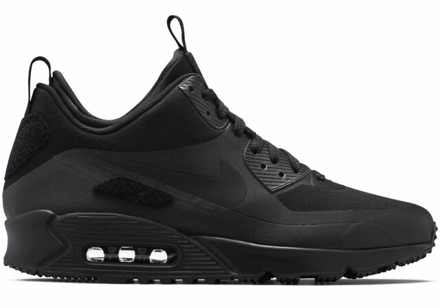 a5ec9c09b949 Nike Air Max 90 Sneakerboot SP Patch Black Size 7.5 UK Limited ...