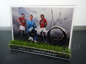 Signed-NIKOLAI-TOPOR-STANLEY-Photo-amp-Frame-Western-Sydney-Wanderers-Jersey