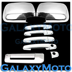 For-05-11-TOYOTA-TACOMA-Chrome-plated-ABS-Mirror-4-Door-Handle-Tailgate-Cover