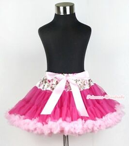 Zebra Style Pettiskirt Hot Pink Cupcake Top Set 1-8Year