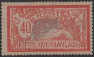 FRANCE-STAMP-TIMBRE-YVERT-N-119d-034-TYPE-MERSON-40c-PAPIER-GC-034-NEUF-xx-TTB-J412