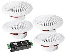 4x 13cm Deckenlautsprecher Bluetooth Funk Lautsprecher Boxen Badezimmer B403BL