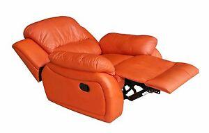 Leder Fernsehsessel Relaxsessel Fernseh Sessel Schlaffunktion 5129 1