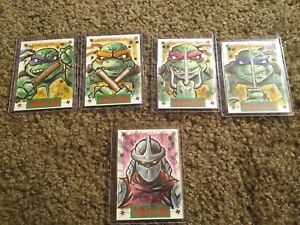 IDW sketch card Teenage Mutant Ninja Turtles