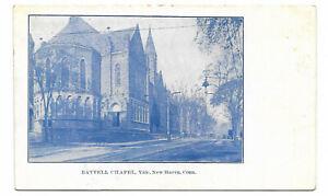 UDB-postcard-c1907-Battell-Chapel-Yale-New-Haven-CT