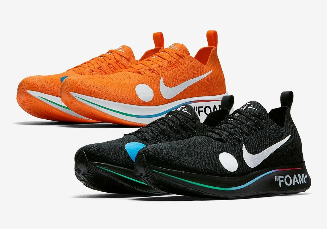 off white zoom fly mercurial black and orange Special limited time