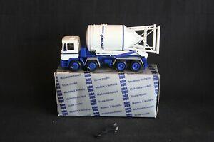 Conrad M.A.N 4 axle Truck with M-Tec Silosteller 1:50 #4196 (J&KvW)