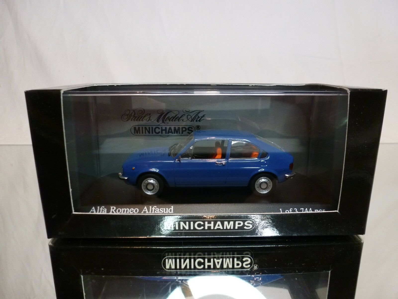MINICHAMPS 120100 ALFA ROMEO ALFASUD 1972 - bleu 1 43 - EXCELLENT IN BOX