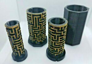 Labyrinthe-Puzzle-mazebox-poupee-russe-Brain-Teaser-Cadeau-Container-secret-Or-Noir