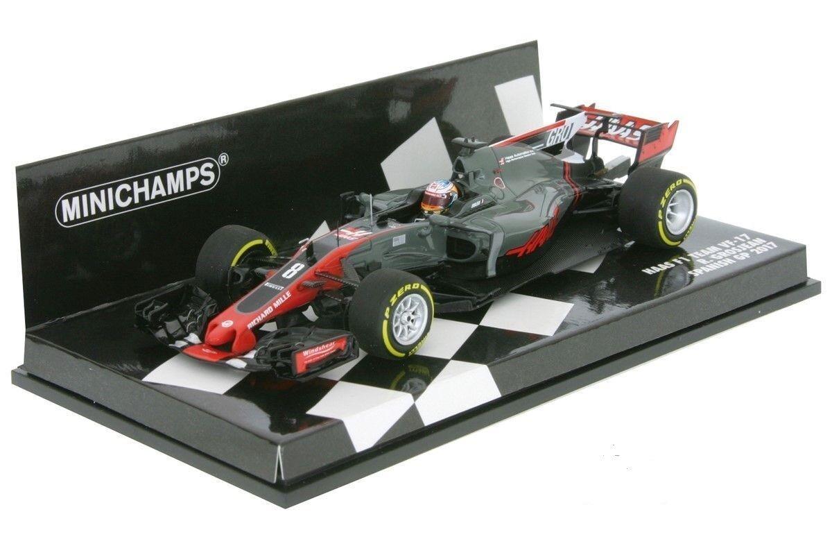 MINICHAMPS 417170008 HAAS VF-17 Romain GROSJEAN 2017 F1 Formule 1