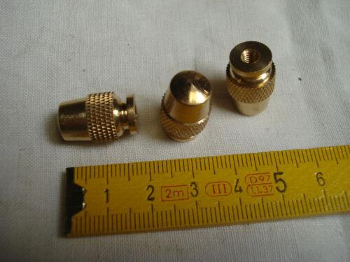 réf C forme de gland pas de vis 4 mm 1 raccord de fin de lustre en laiton