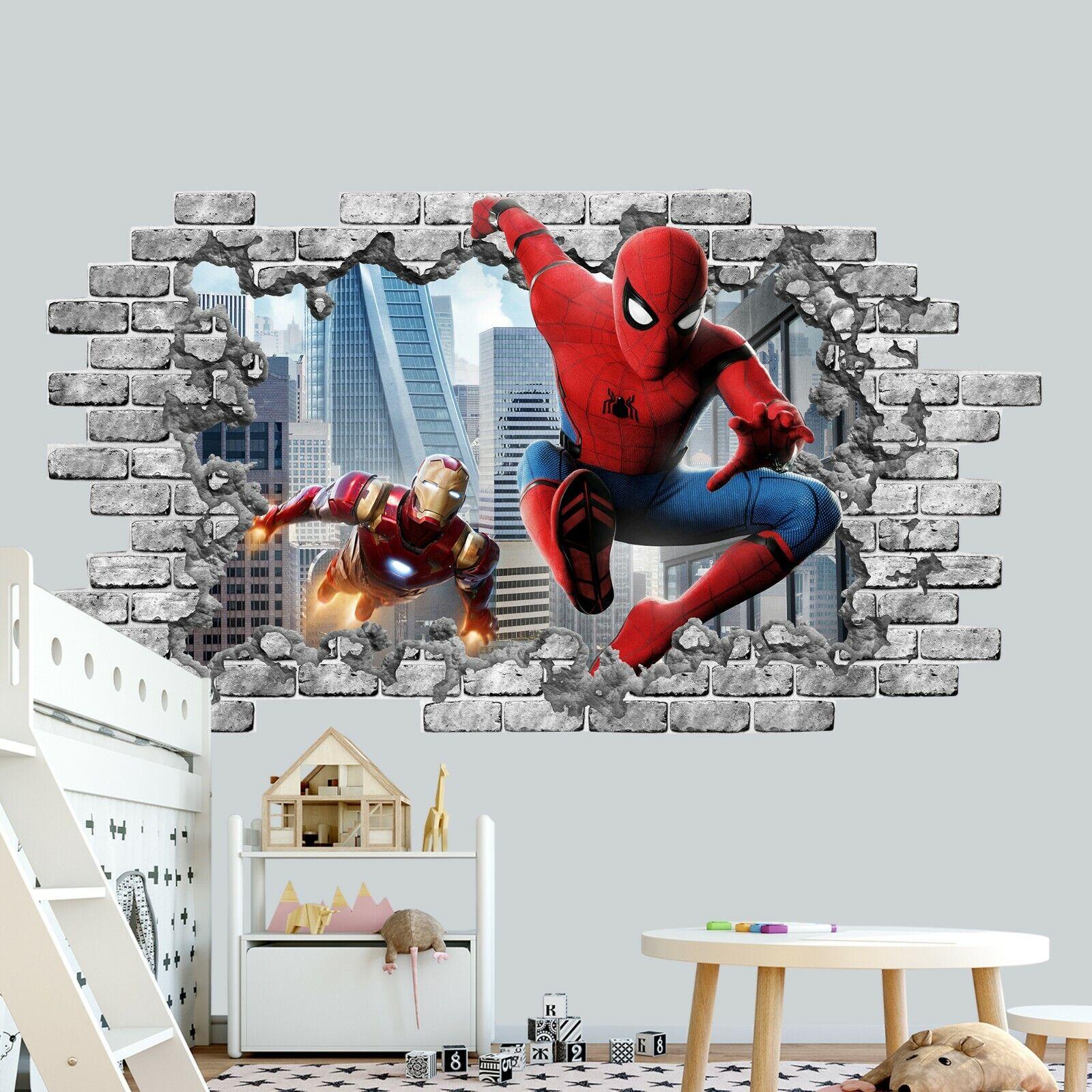 Brick Superhero INSTANT DOWNLOAD Superhero Print Party Decor Nursery Room Wall Art D713 Superhero Superman Nursery Printable