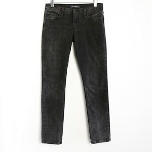 Levi-039-s-524-Too-Superlow-Black-Slim-Skinny-Jeans-Size-9M-purple-paint-splatters