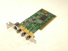 HAUPPAUGE 640000-03 LF PCI Video Capture Card SVideo RCA - TESTED