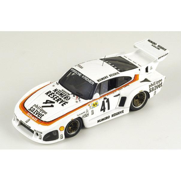 SPARK Porsche 935 K3  41 Winner Le Mans 1979 Ludwig - Whittington 43LM79 1 43