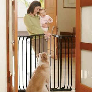 Dreambaby Extra Tall Hallway Swing Closed Baby Stair Gate