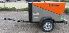 Air Compressor Sullivan D110pku 110 Cfm Diesel Engine Trailer Towable Portable