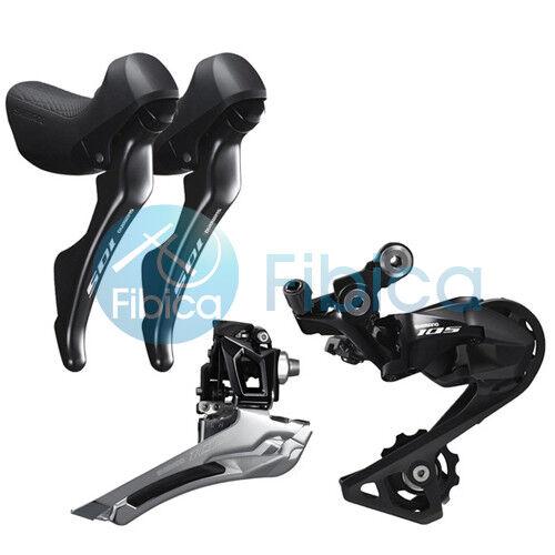 New 2018 Shimano 105 R7000 Drivetrain Groupset Front Rear Derailleur Shifters