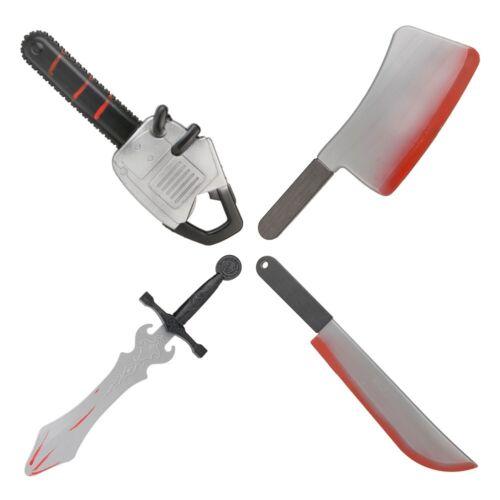 Sanglante Halloween Arme Prop-Couteau-sabre-chevalet Tronçonneuse
