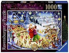 RAVENSBURGER PUZZLE SANTA'S CHRISTMAS PARTY 20TH ANNIVERSARY LE 1000 PCS #19660