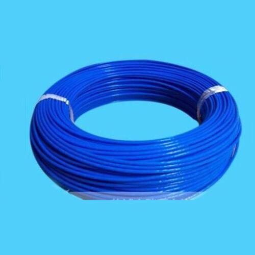 PTFE Teflon Tube Pipe 2mm ID 3mm OD Teflon Tubing MK7//8 extruder 6 colours