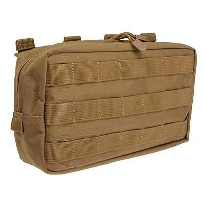 5.11 Tactical 10.6 Horizontal Molle Pouch Flat Dark Earth
