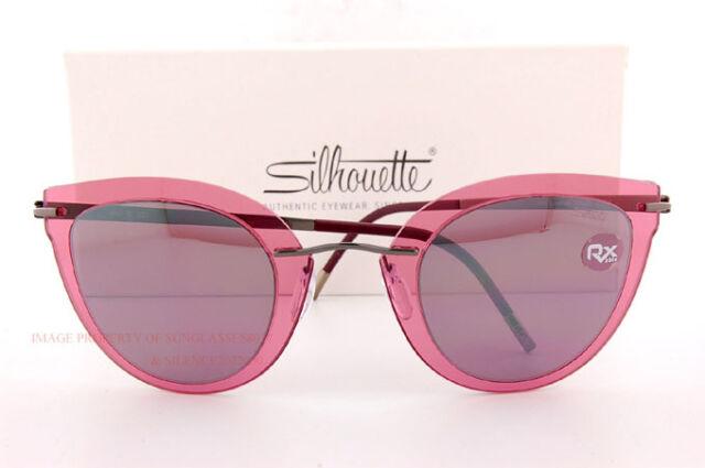 9fc478e366d New Silhouette Sunglasses Explorer Line Extension 8155 6223 Rose Violet  Women