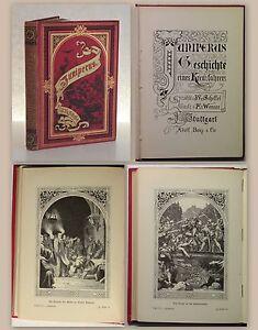 Scheffel-Juniperus-Geschichte-eines-Kreuzfahrers-1891-Holzschnitte-Werner-xz
