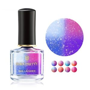 6ml-BORN-PRETTY-Thermolack-Farbwechsel-Nagellack-Peel-Off-Thermal-Nail-Polish