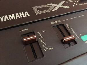 2-X-Yamaha-DX7-MK1-DX9-DX5-DX1-DX21-DX27-DX100-Slider-Knob-Volume-Data-Entry