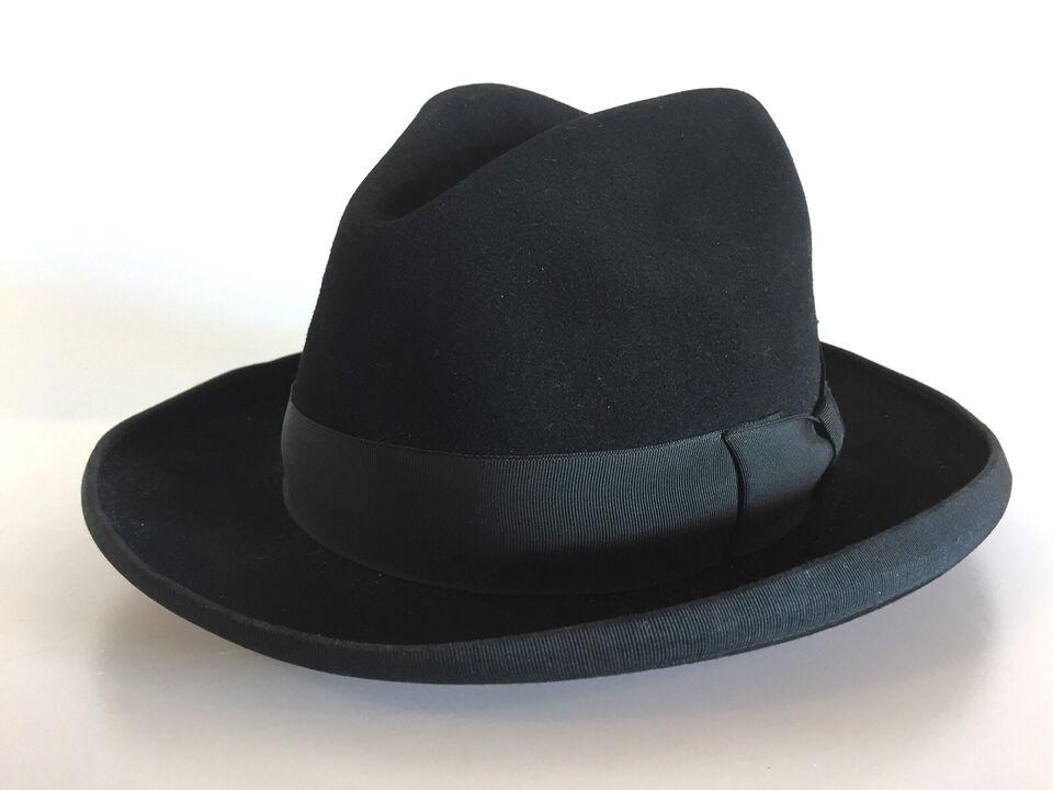 Vintage homburg hat
