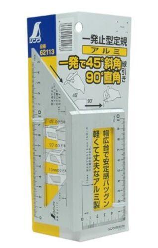 SHINWA SQUARE LAYOUT METER 90 /& 45 ALUMINUM BODY 62113 MADE IN JAPAN
